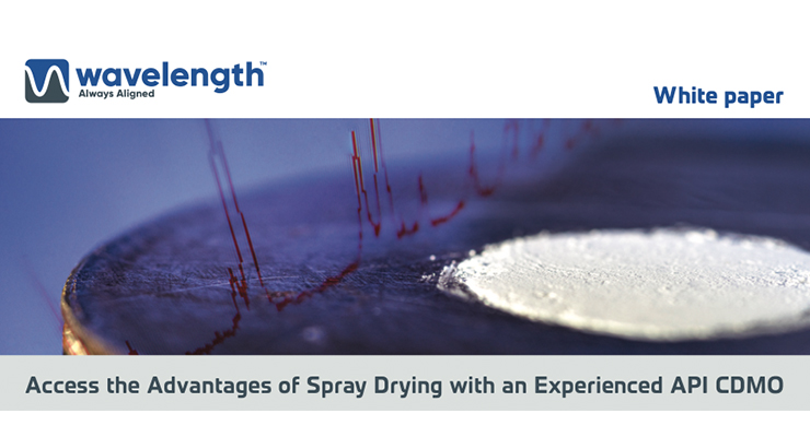 Access the Advantages of Spray Drying with an Experienced API CDMO