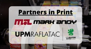 Mark Andy and UPM Raflatac renew strategic partnership
