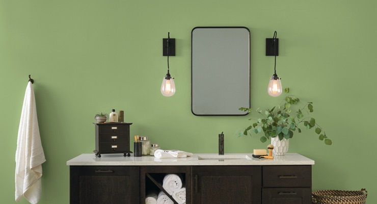 GLIDDEN Paint by PPG Names Guacamole Its 2022 Color of the Year
