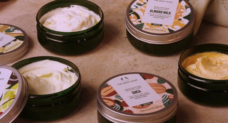 The Body Shop Reformulates Body Butter Range