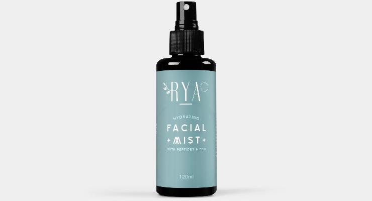 Rya Organics Launches CBD-Infused Hydrating Facial Mist