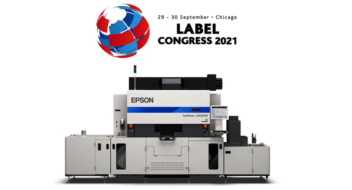 Epson highlighting SurePress UV digital press at Label Congress