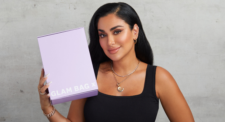 Ipsy Launches Glam Bag x Huda Beauty Collection Curated by Huda Kattan