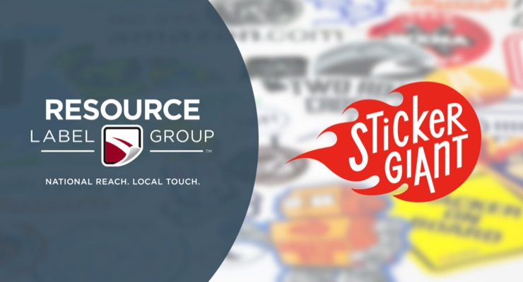 Resource Label Group set to acquire StickerGiant