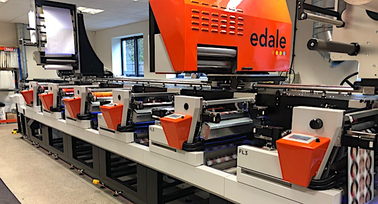 Fujifilm, Edale find success with flexographic showroom