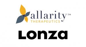 Allarity Therapeutics and Lonza to Develop and Manufacture Dovitinib