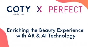 Coty Inc. Signs Multi-Channel Agreement with Perfect Corp.