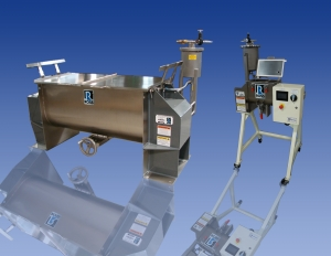 Ross Offers Pressure Feed Vessels for Ribbon Blenders