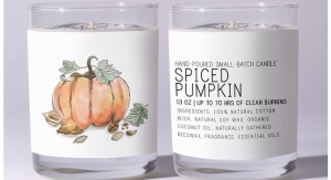 Just Bee Cosmetics Unveils Limited-Edition Spiced Pumpkin Candle