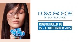 Cosmoprof CBE Asean is Postponed to September 2022