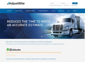 PPG ADJUSTRITE Commercial Estimating System Offers Ability to Integrate with QUICKBOOKS