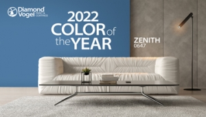Diamond Vogel 2022 Color of the Year and 2022 Annual Color Trend Report