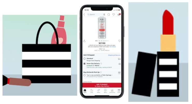 Sephora Debuts Same-Day Delivery Service