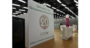 INDEX Innovation Lab to Showcase Innovation and R&D in Nonwovens