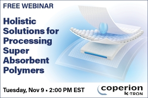 Holistic Solutions for Processing Super Absorbent Polymers