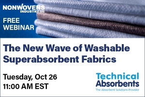 The New Wave of Washable Superabsorbent Fabrics
