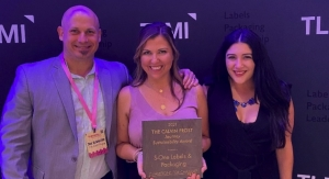 S-OneLP honored with TLMI Sustainability Award