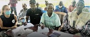 Jelinkon CREMA, Koster Keunen West Africa Signs Conservation Agreement