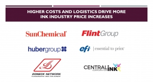 Higher Costs, Logistics Drive More Ink Industry Price Increases