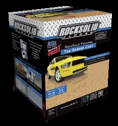 RockSolid Floors Garage Coat now available in tan