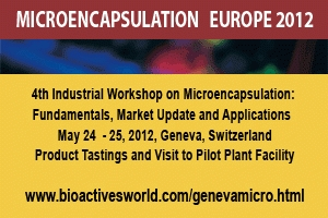 4th Industrial Workshop on Microencapsulation: Fundamentals, Market Update and Applications