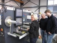 ABG installs third flytec at German label printer