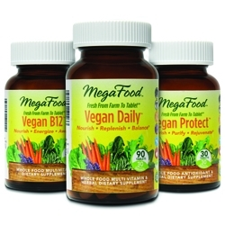MegaFoods Launches Vegan Whole Food Supplements