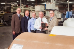 Hammer Packaging honored by supplier