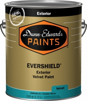 Dunn-Edwards introduces new and improved Evershield flat, velvet and eggshell premium exterior paint