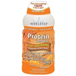 Liquid Supplements with Protein