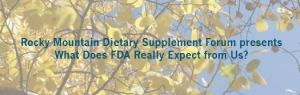 What Does FDA Expect From Us?