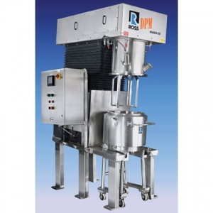 Ross offers tilted design double planetary mixers