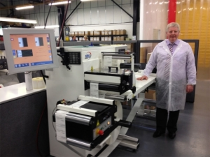 CV Labels installs fifth Omega inspection rewinder