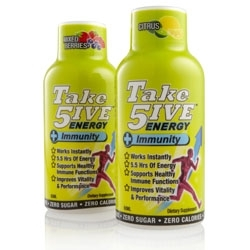 Take5ive Energy + Immunity with Wellmune WGP