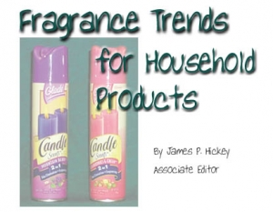 Fragrance Trends for Household Products