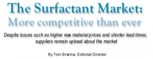 The Surfactant Market: More Competitve than Ever