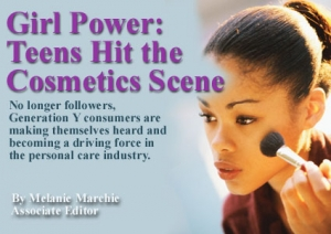 Girl Power: Teens Hit the Cosmetics Scene