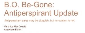 B.O. Be-Gone: Antiperspirant Update