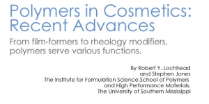 Polymers in Cosmetics: Recent Advances