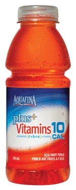 Aquafina Plus Vitamins 10 Cal