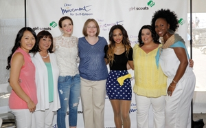 Dove Reveals Real Role Models at Girl Scout Event
