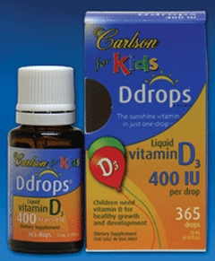 Carlson for Kids Ddrops & CalaOmega