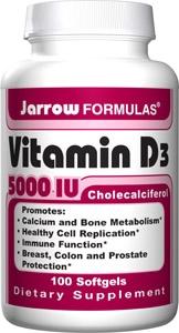 5000 IU Vitamin D3
