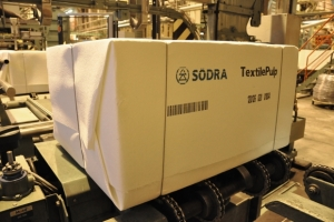 Södra Cell reaches 100,000 tons of textile pulp