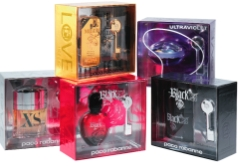 Tepor Creates Boxes for Paco Rabanne