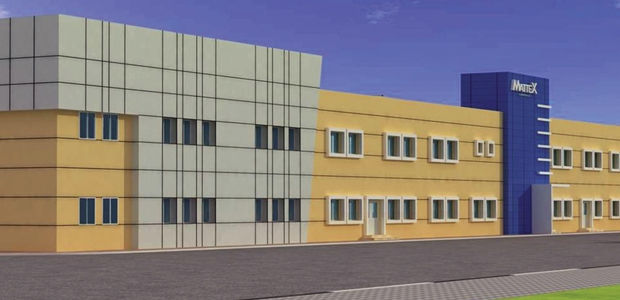 This rendering shows Mattex Al Jubail, the company's new nonwovens facility currently under construction.