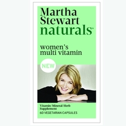 Inergetics & Martha Stewart Living Omnimedia Launch Line of Women's Supplements