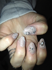 Butter London Fashions Emmy Rossum's Nails