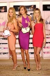 Models Celebrate New Victoria's Secret Scent