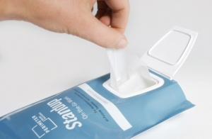 Wipes packaging innovation